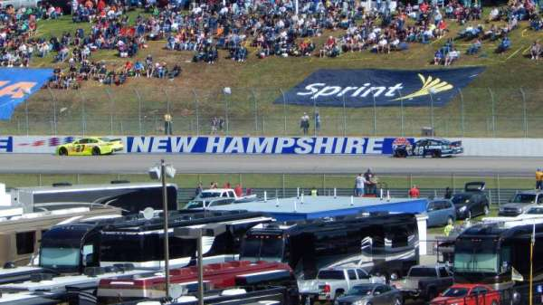 New Hampshire Motor Speedway, section: CA, row: 41, seat: 12