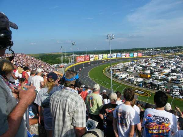 Charlotte Motor Speedway, section: S, row: 31, seat: 12
