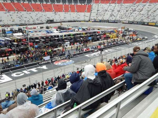 Bristol Motor Speedway, section: Allison K, row: 31, seat: 10