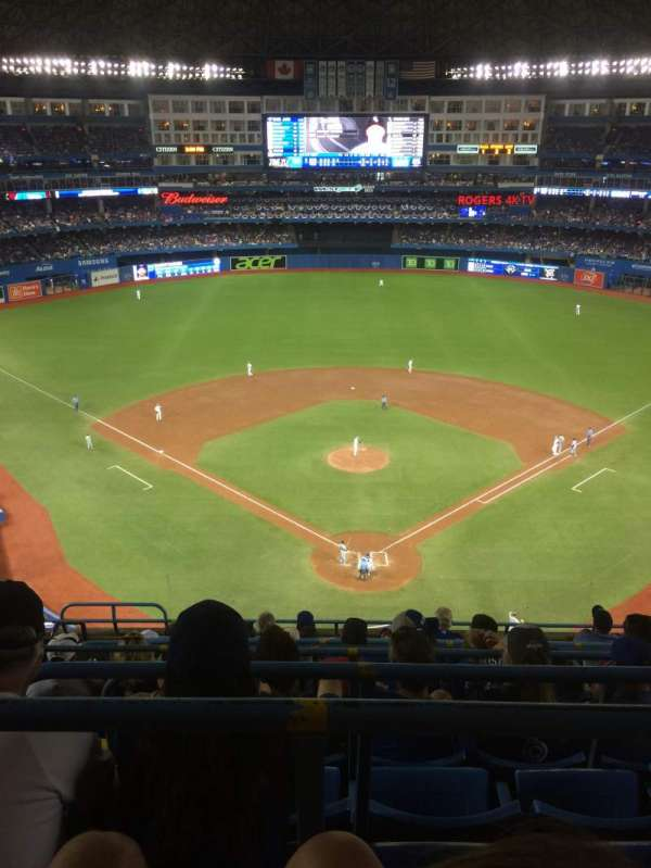 Rogers Centre, section: 524BR, row: 10, seat: 5