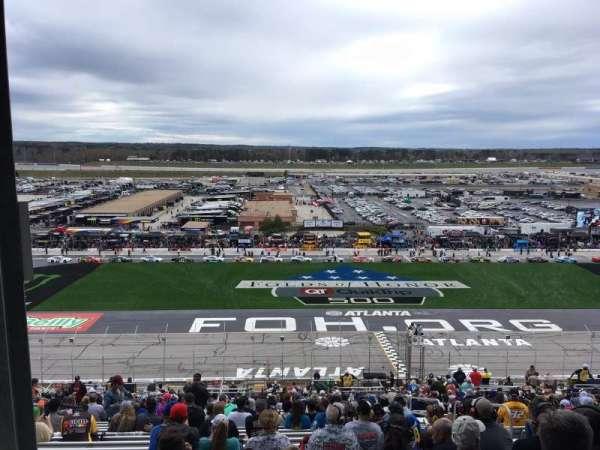 Atlanta Motor Speedway, section: 245, row: 58, seat: 11