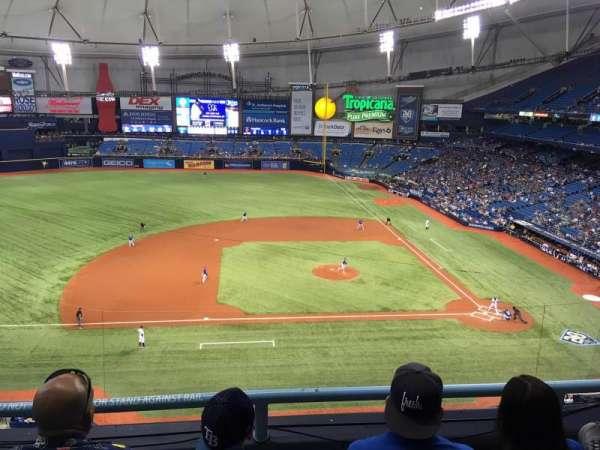Tropicana Field, section: 311, row: C, seat: 16