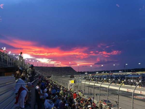 Darlington Raceway, section: Wallace, row: 15, seat: 15