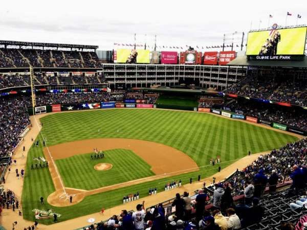 Globe Life Park in Arlington, section: 329, row: 16, seat: 22