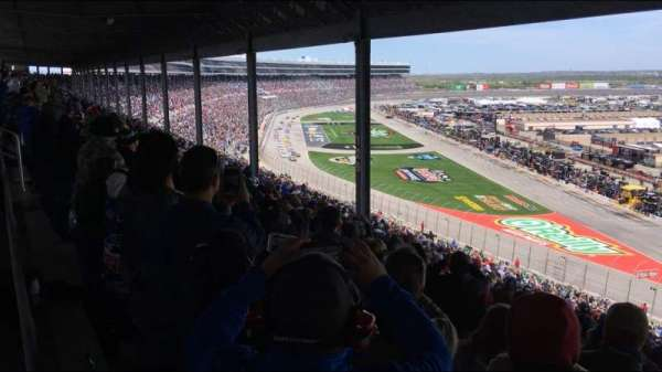 Texas Motor Speedway, section: PU131, row: 62, seat: 1