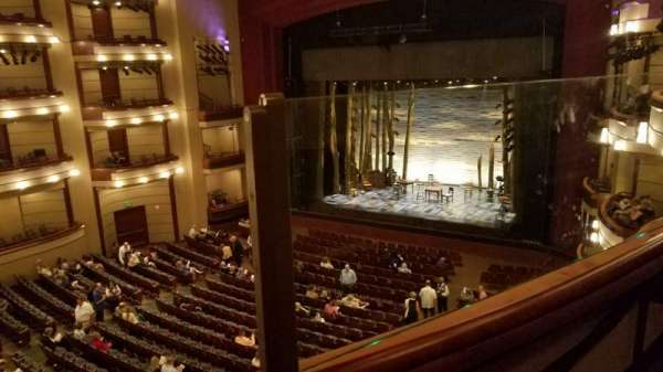 Ziff Ballet Opera House at the Arsht Center, section: 2 Tier Right, row: A, seat: 28