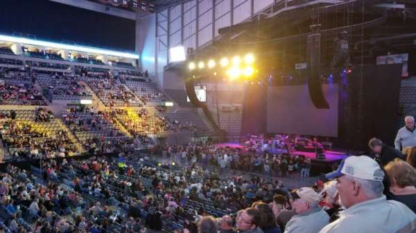 Allen County War Memorial Coliseum , section: 219, row: 13, seat: 1