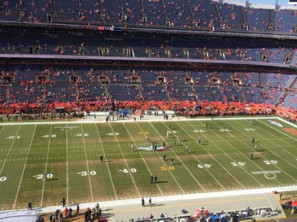 Empower Field at Mile High Stadium, section: 536, row: 6, seat: 14