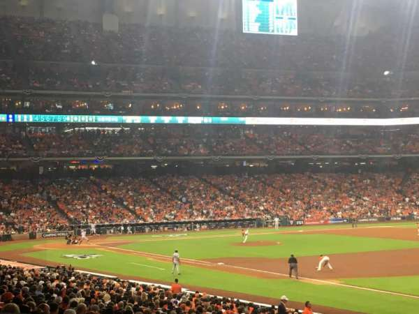 Minute Maid Park, section: 131, row: 24, seat: 23