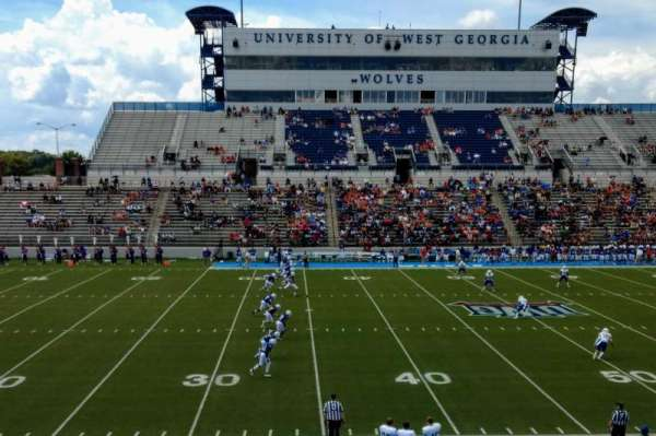 RA-LIN Field at University Stadium, section: 108, row: 17, seat: 6