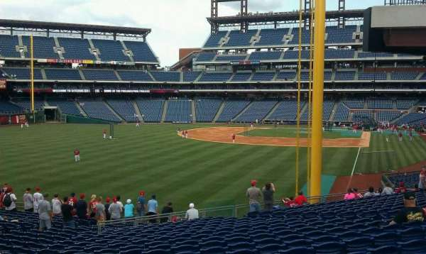 Citizens Bank Park, section: SRO, row: 1