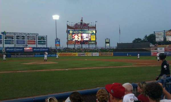 Coca-Cola Park, section: 108, row: d, seat: 7