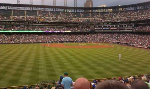 Coors Field, section: 155, row: 18, seat: 7