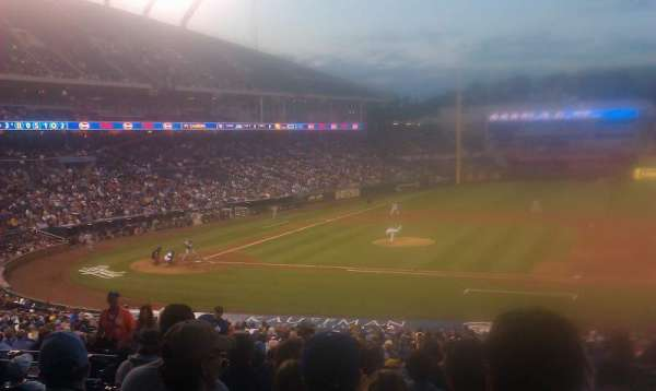 Kauffman Stadium, section: 236, row: KK, seat: 1