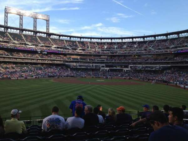 Citi Field, section: 138, row: 9, seat: 9