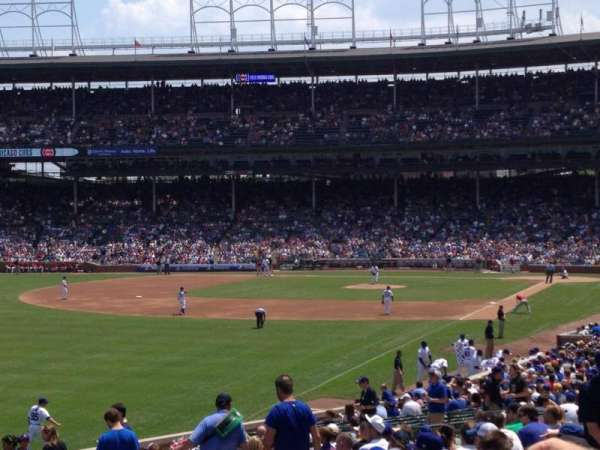 Wrigley Field, section: 201, row: 5, seat: 11