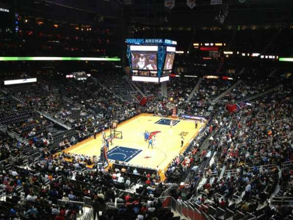 State Farm Arena, section: 201, row: A, seat: 14