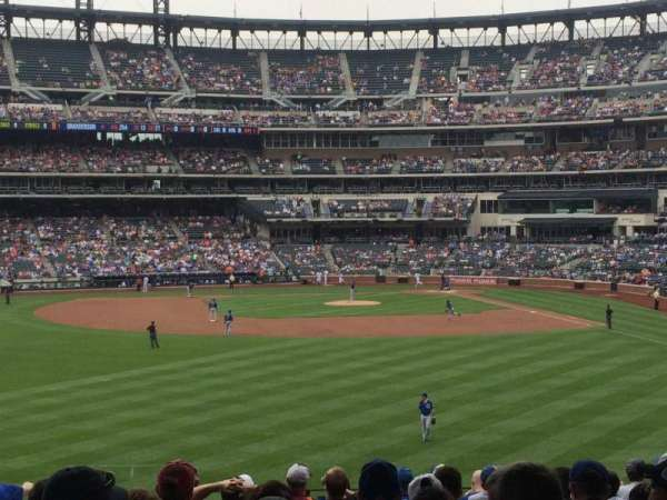 Citi Field, section: 135, row: 15, seat: 22