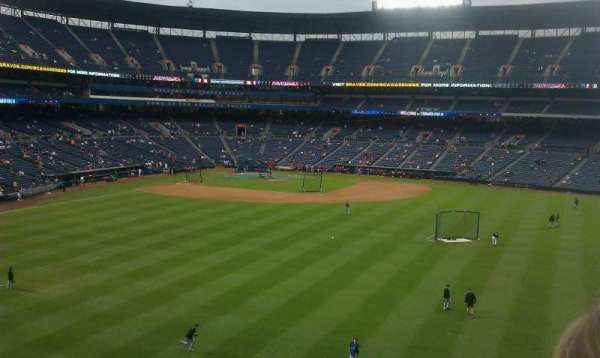 Turner Field, section: pavilion section