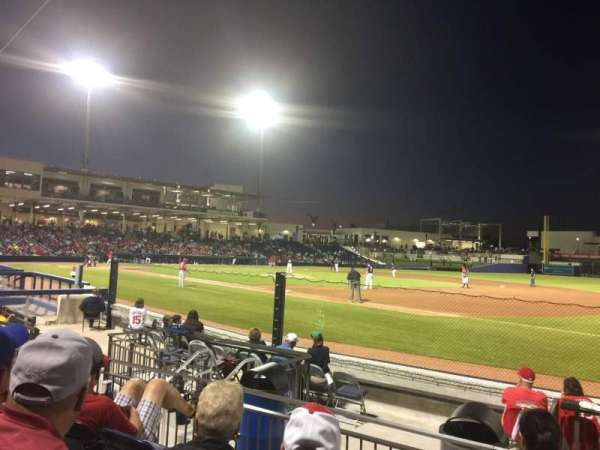 FITTEAM Ballpark of the Palm Beaches, section: 117, row: J, seat: 12