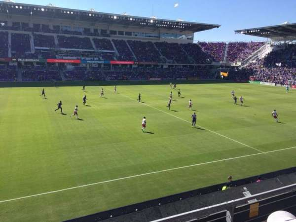 Exploria Stadium, section: 135, row: 2, seat: 22