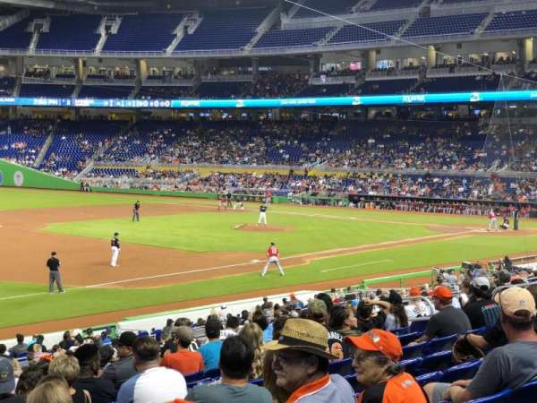 Marlins Park, section: 23, row: 10, seat: 14