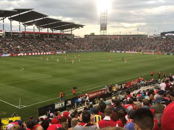 Dick's Sporting Goods Park, section: 134, row: 19, seat: 22