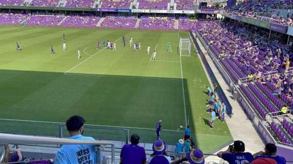 Exploria Stadium, section: 110, row: F, seat: 20