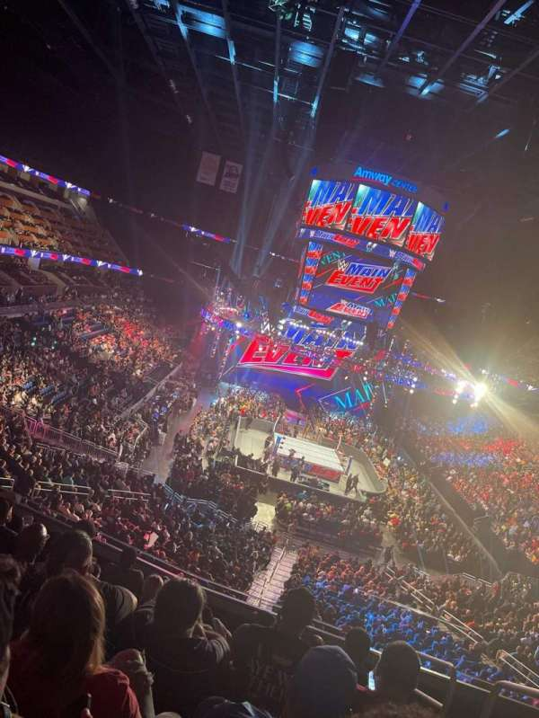 Amway Center, section: 111A, row: 29, seat: 1
