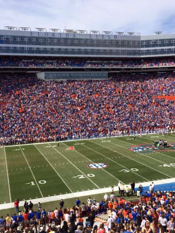 Ben Hill Griffin Stadium, section: 43, row: 51, seat: 14