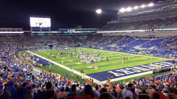 Kroger Field, section: 13, row: 35