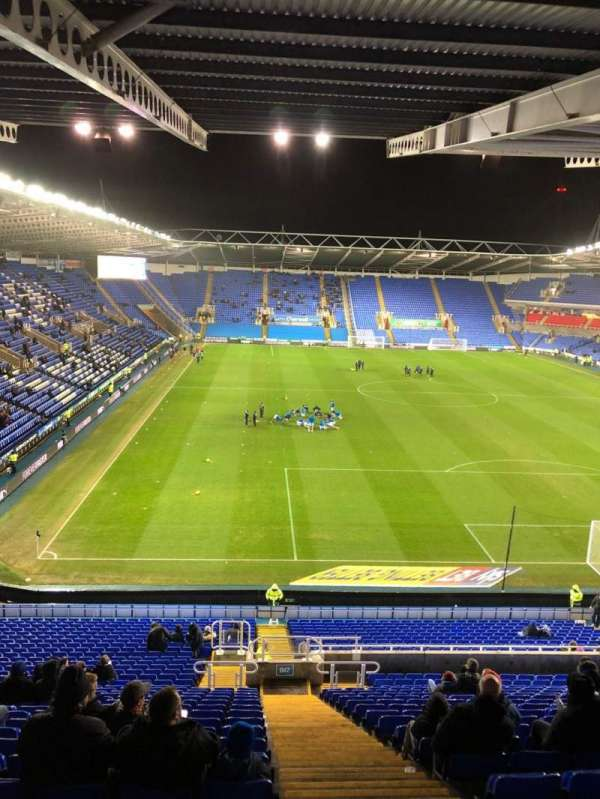 Madejski Stadium, section: B17, row: KK, seat: 130
