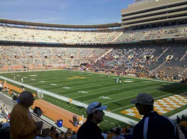 Neyland Stadium, section: p, row: 36, seat: 4