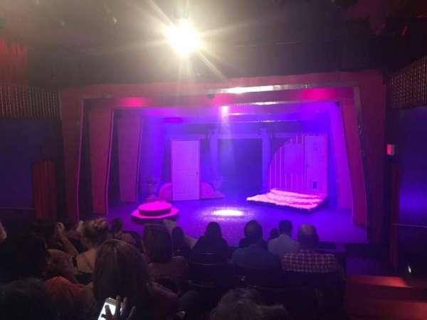 Ovation Theatre, section: GA, row: G, seat: 9