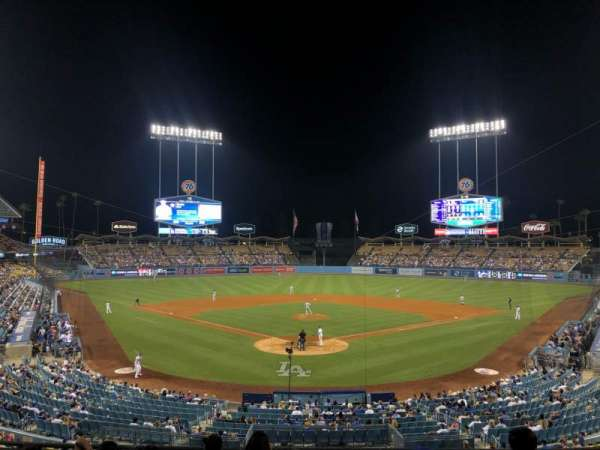 Dodger Stadium, section: 102LG, row: G, seat: 5
