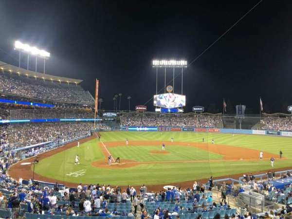 Dodger Stadium, section: 116LG, row: D, seat: 5