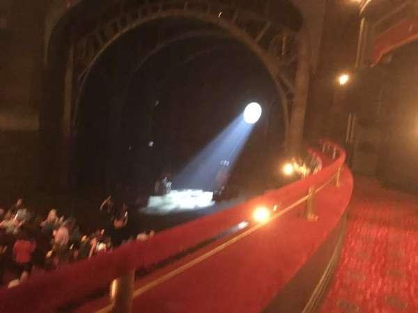 Lyric Theatre, section: Dress Circle R, row: A, seat: 22