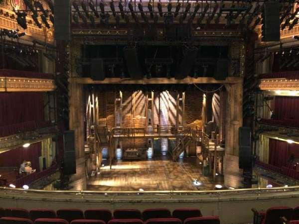 CIBC Theatre, section: Mezzanine LC, row: F, seat: 301