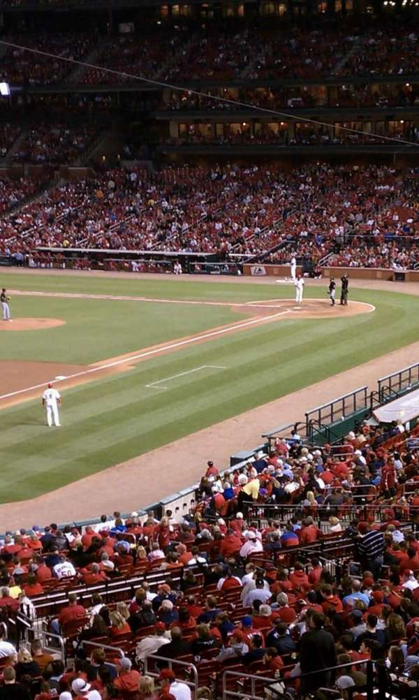 Busch Stadium, section: Champions Club 11, row: A, seat: 3