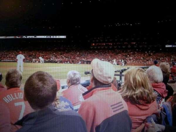 Busch Stadium, section: 1, row: D, seat: 5