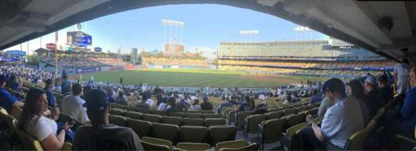 Dodger Stadium, section: 39FD, row: V, seat: 2