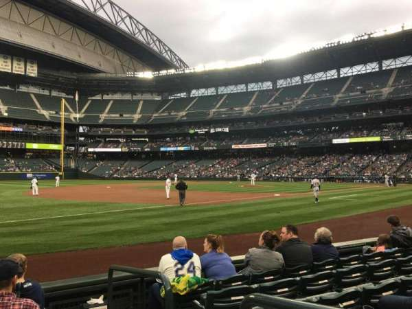 T-Mobile Park, section: 143, row: 6, seat: 1