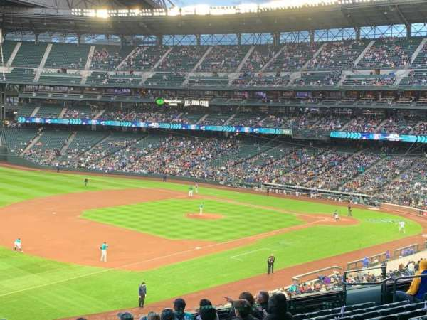 T-Mobile Park, section: 243, row: 11, seat: 1