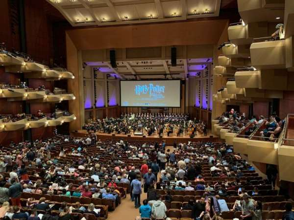 Benaroya Hall, section: Right A, row: A , seat: 1