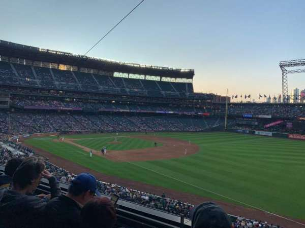 T-Mobile Park, section: 215, row: 3, seat: 1