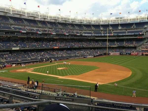 Yankee Stadium, section: 213, row: 4, seat: 17