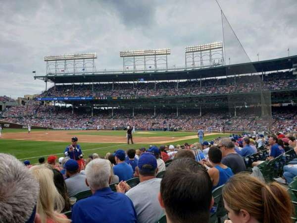 Wrigley Field, section: 7, row: 10, seat: 4