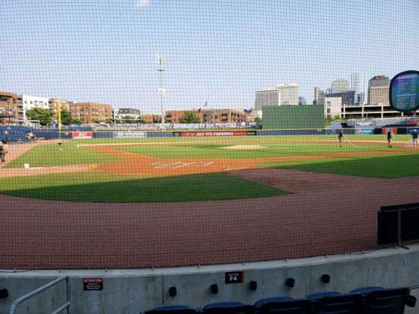 First Horizon Park, section: Field Suite 4, row: 1, seat: 1
