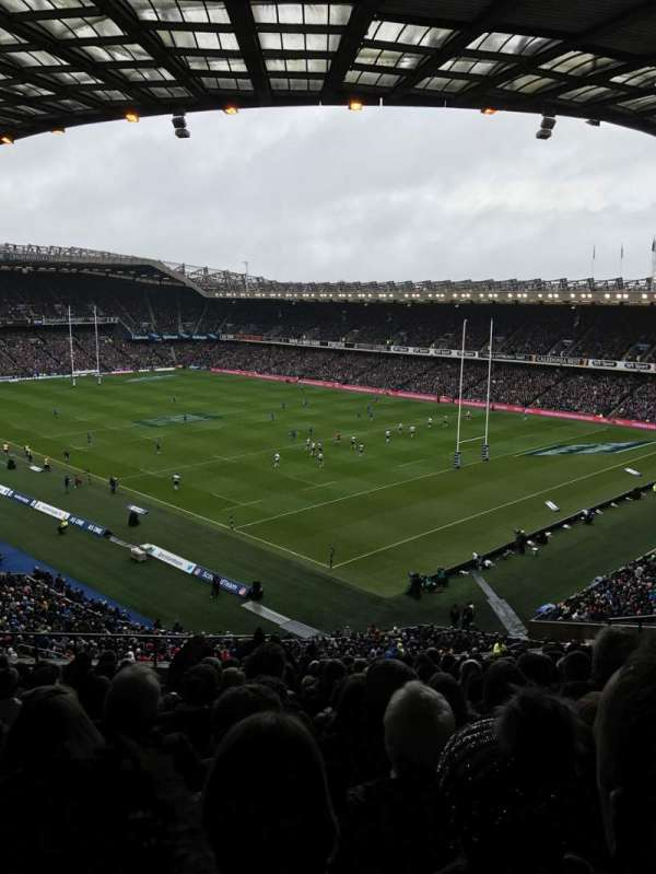 Murrayfield Stadium, section: W6, row: EE, seat: 11