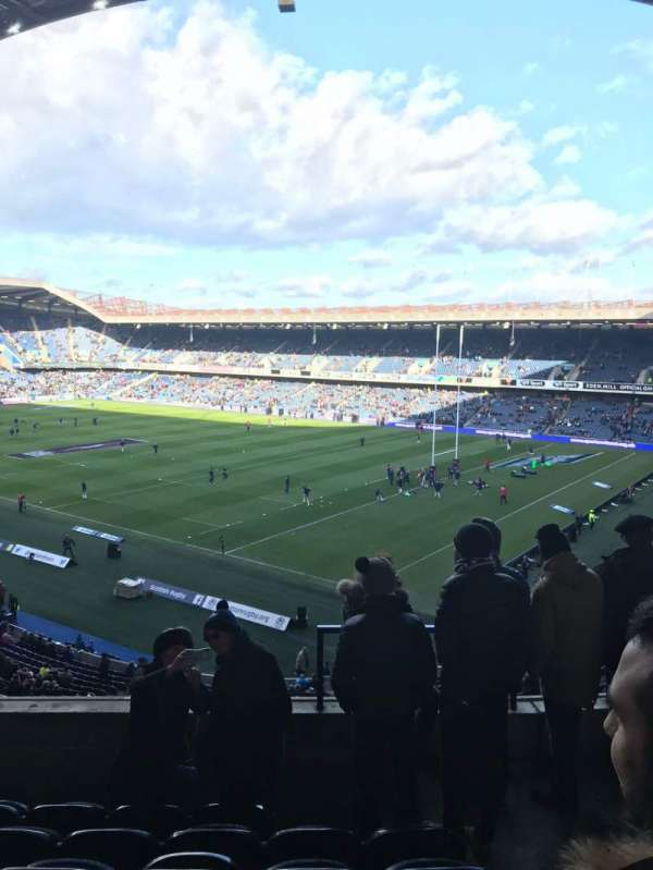 Murrayfield Stadium, section: W6, row: T, seat: 37